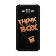 Think Outside The Box- Entrepreneur Lines design,  Samsung Galaxy J1 Ace  printed back cover