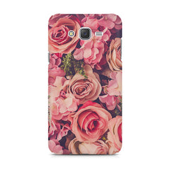 Roses  design,  Samsung Galaxy J5 ( 2015 )  printed back cover