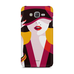 Classy girl  design,  Samsung Galaxy J5 ( 2015 )  printed back cover
