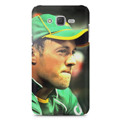 AB de Villiers South Africa  Galaxy A8  printed back cover