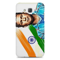 Sachin Tendulkar blue  Samsung Galaxy J1 Ace  printed back cover