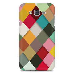 Graphic Design diamonds   Samsung Galaxy J1 Ace  printed back cover