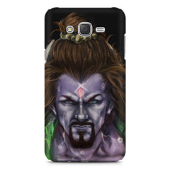 Shiva Anger  Samsung Galaxy J5 (2016)  printed back cover