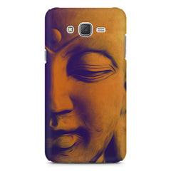 Peaceful Serene Lord Buddha Samsung J7 2016 version  printed back cover