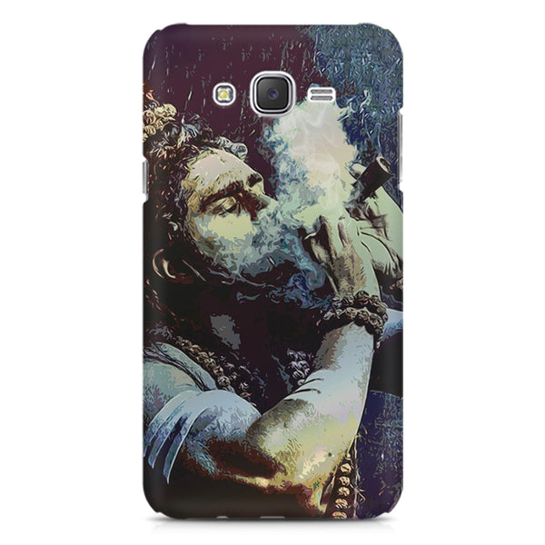 Smoking weed design Samsung Galaxy J5 (2016)  printed back cover