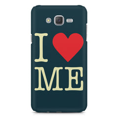 I love myself design Samsung J7 2016 version  printed back cover
