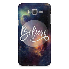 Believe in yourself Galaxy A8  printed back cover