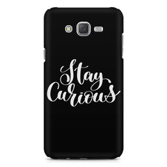 Be curious design Galaxy A8  printed back cover