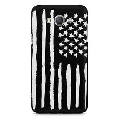 American Flag design Galaxy A8  printed back cover