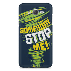 Be Unstoppable design Galaxy A8  printed back cover