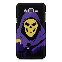 Evil looking skull design Samsung Galaxy J1 (2016)  printed back cover