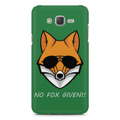 No fox given design Samsung Galaxy J1  printed back cover