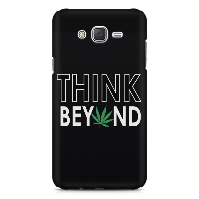 93b8560f176 Think beyond weed design Samsung Galaxy J2 printed back cover ...