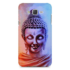 Lord Buddha design Samsung J7 2016 version  printed back cover