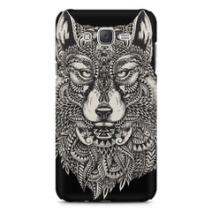 Fox illustration design Samsung Galaxy J1 (2016)  printed back cover
