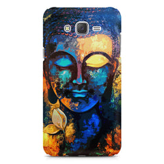 Beautiful Buddha abstract painting full of colors design  Galaxy A8 hard plastic printed back cover