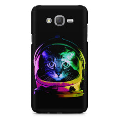 Astro Cat design    Galaxy A8 hard plastic printed back cover