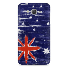 Australian flag design    Galaxy A8 hard plastic printed back cover