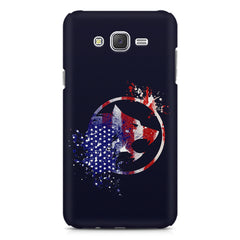 American Wolf design    Galaxy A8 hard plastic printed back cover