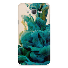 Coloured smoke design    Samsung Galaxy J7 Nxt hard plastic printed back cover