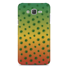 Multicolour leaf overall design Samsung Galaxy J7 Nxt hard plastic printed back cover