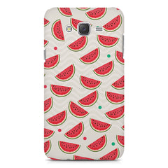 Water melon pattern design    Samsung Galaxy J7 Nxt hard plastic printed back cover