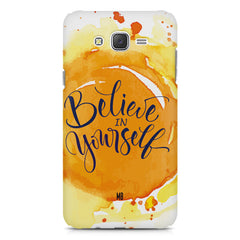 Believe in Yourself Samsung Galaxy J7 Nxt hard plastic printed back cover