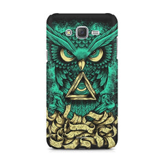 Owl Art design,  Samsung Galaxy J1 Ace  printed back cover