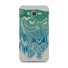 Owl Sketch design,  Samsung Galaxy J1 Ace  printed back cover
