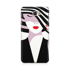 woman  design,  Samsung J7 Max  printed back cover
