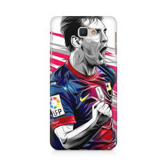 Messi illustration design,  Samsung Galaxy On7 2016  printed back cover