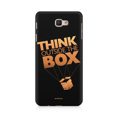 Think Outside The Box- Entrepreneur Lines design,  Samsung J7 Max  printed back cover