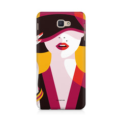 Classy girl  design,  Samsung J7 Max  printed back cover