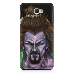 Shiva Anger  Samsung Galaxy On7 2016  printed back cover