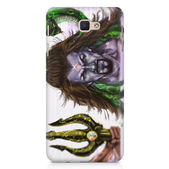 Shiva With Trishul  Samsung J7 Max  printed back cover