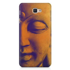 Peaceful Serene Lord Buddha Samsung J7 Prime  printed back cover
