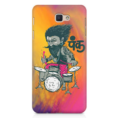 Punk baba drumroll  design,   Samsung Galaxy A3 2017 hard plastic printed back cover.