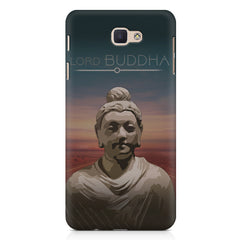 Lord Buddha peace  design,   Samsung Galaxy A3 2017 hard plastic printed back cover.