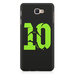 Lionel Messi 10 Playing  design,   Samsung Galaxy A3 2017 hard plastic printed back cover.