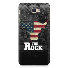 The Rock  design,   Samsung Galaxy A3 2017 hard plastic printed back cover.