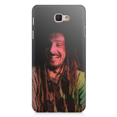 Happy Pot Stoner  design,   Samsung Galaxy A7 2017 hard plastic printed back cover.