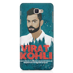Virat Kohli Indian Cricket Team Captain Quote design,   Samsung Galaxy A7 2017 hard plastic printed back cover.