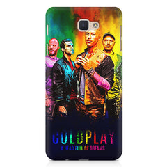 Coldplay Colorful Album Art A Head Full of Dreams design,   Samsung Galaxy A7 2017 hard plastic printed back cover.
