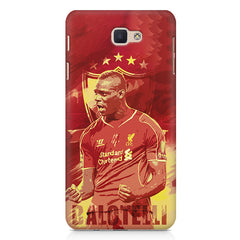 Mario Balotelli Barwuah OGC Nice Forward Footballer design,   Samsung Galaxy A7 2017 hard plastic printed back cover.