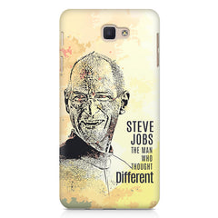 Steve Jobs Apple Art design,   Samsung Galaxy A7 2017 hard plastic printed back cover.