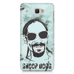 Snoop Dogg Popart design,   Samsung Galaxy A7 2017 hard plastic printed back cover.