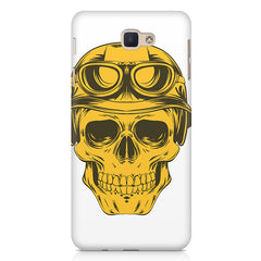 Explorer Skull Concept Art design,   Samsung Galaxy A7 2017 hard plastic printed back cover.