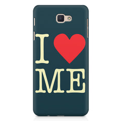 I love myself design  Samsung Galaxy A7 2017 hard plastic printed back cover.
