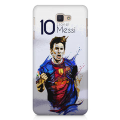 Messi design Samsung J7 Max  printed back cover