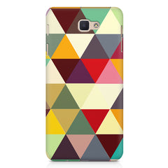 Colourful pattern design Samsung Galaxy On7 2016  printed back cover